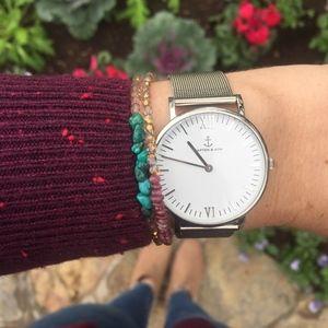 Jewelry - Tourmaline Beaded Bracelet - Custom gemstone